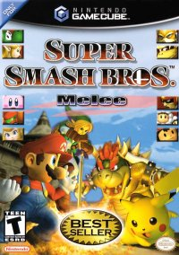 Обложка Super Smash Bros. Melee
