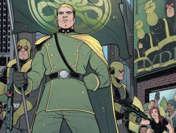 Интервью с лидером Гидры: что Капитан Америка сказал народу?