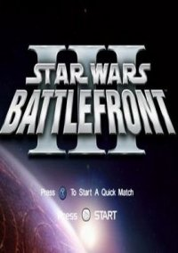 Обложка Star Wars Battlefront III