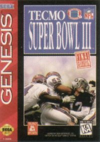 Обложка Tecmo Super Bowl III Final Edition