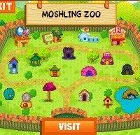 Обложка Moshi Monsters: Moshling Zoo