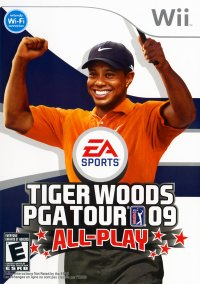 Обложка Tiger Woods PGA Tour 09 All Play