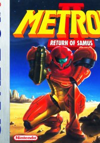 Обложка Metroid II: Return of Samus