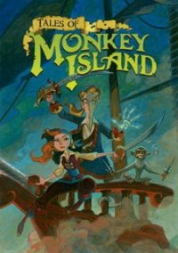 Обложка Tales of Monkey Island: Chapter 2 - The Siege of Spinner Cay