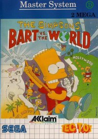 Обложка The Simpsons: Bart vs. the World