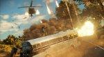 Оперативник оседлал летящую машину на кадрах Just Cause 3 - Изображение 5