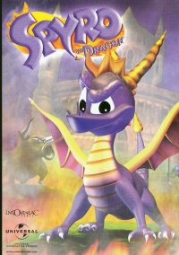 Обложка Spyro the Dragon Rus
