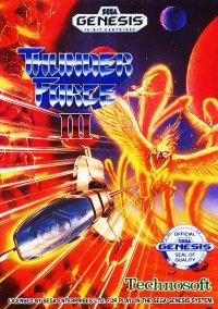 Обложка Thunder Force III