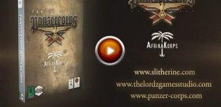 Panzer Corps: Afrika Korps. Видео #1