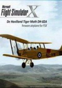 Обложка Microsoft Flight Simulator X: De Havilland Tiger Moth DH-82A