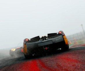 Трассу заливает дождем в трейлере Project CARS к Хэллоуину