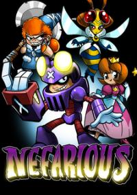 Обложка Nefarious