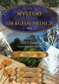 Обложка The Mystery of the Dragon Prince