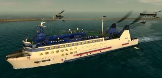 European Ship Simulator. Видео #1