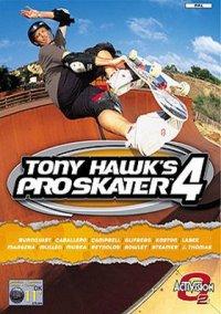 Обложка Tony Hawk's Pro Skater 4