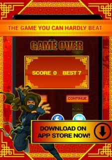 Ninja Tap Superhero Game PRO - Great City Adventure Flyer Game
