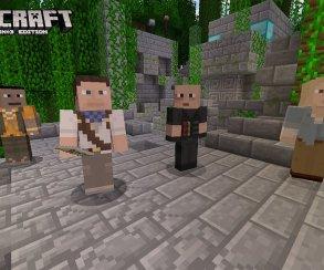 Mojang переселила в Minecraft Натана Дрейка и других героев игр Sony