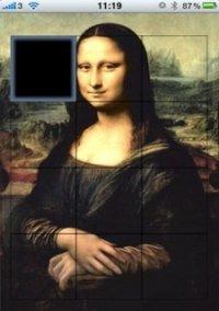 Обложка Mona Lisa Sliding Puzzle