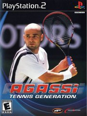 Обложка Agassi Tennis Generation 2002