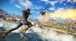 Оперативник пролетает над полем сирени на кадрах Just Cause 3 - Изображение 10
