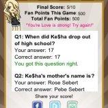 Скриншот Ke$ha Quizzle