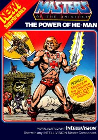 Обложка Masters of the Universe: The Power of He-Man