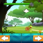Скриншот Save the Little Snail Venture - A Falling Rock Avoiding Game – Изображение 1