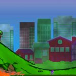 Скриншот HD Zombie Skateboarder High School - Life On The Run Surviving The Fire – Изображение 3