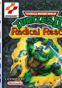 Обложка Teenage Mutant Ninja Turtles III: Radical Rescue
