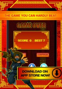 Обложка Ninja Tap Superhero Game PRO - Great City Adventure Flyer Game