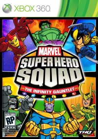 Обложка Marvel Super Hero Squad: The Infinity Gauntlet