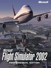 Обложка Microsoft Flight Simulator 2002 Professional Edition