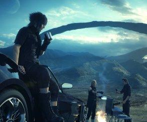 Друзья собрались у костра в трейлере Final Fantasy 15