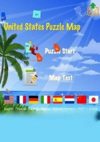 United States Puzzle Map – фото обложки игры