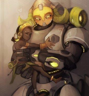 Ориса, робоняня Overwatch