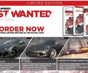 Need for Speed: Most Wanted возможно получит поддержку Kinect