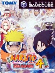 Обложка Naruto: Gekitou Ninja Taisen 4
