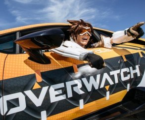 Uber зовет прокатиться с героями Overwatch