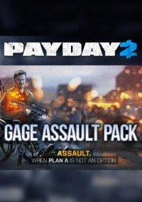 Обложка PayDay 2: Gage Assault Pack