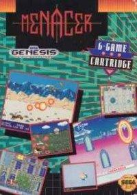 Обложка Menacer 6-Game Cartridge