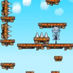 Скриншот Mega Jumpy Monster Extreme - Pogo-stick Jump-er – Изображение 4