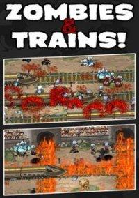 Обложка Zombies & Trains!