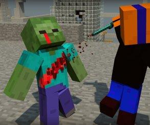 Школьник пронёс в школу оружие, изображая из себя героя игры Майнкрафт