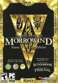 Обложка The Elder Scrolls III: Morrowind -- Game of the Year Edition