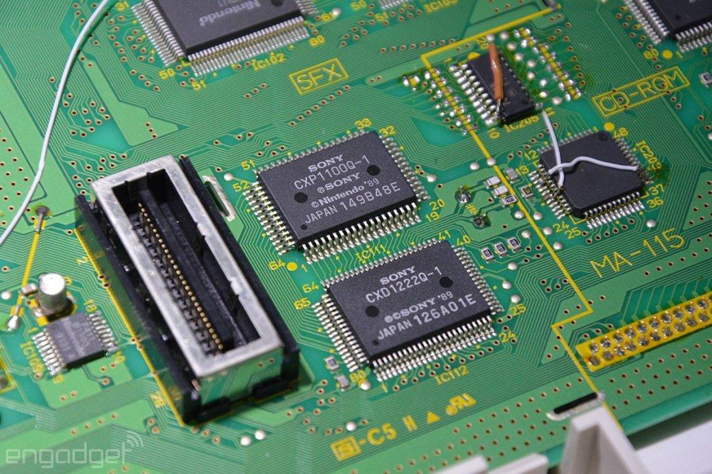 Прототип Nintendo PlayStation показан в рабочем виде - Изображение 4