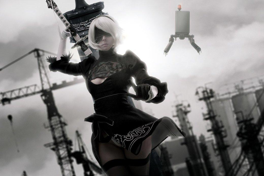 Косплей дня: андроид 2B из NieR: Automata. - Изображение 6