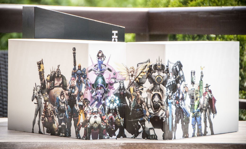 Распаковка коллекционного издания Overwatch - Изображение 1