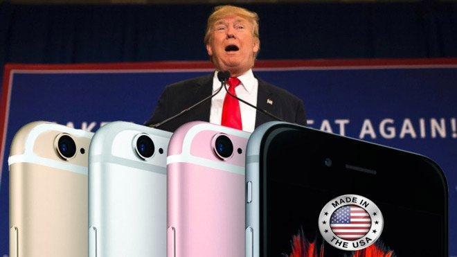 Трамп уговаривает Apple перенести производство в Америку  - Изображение 1