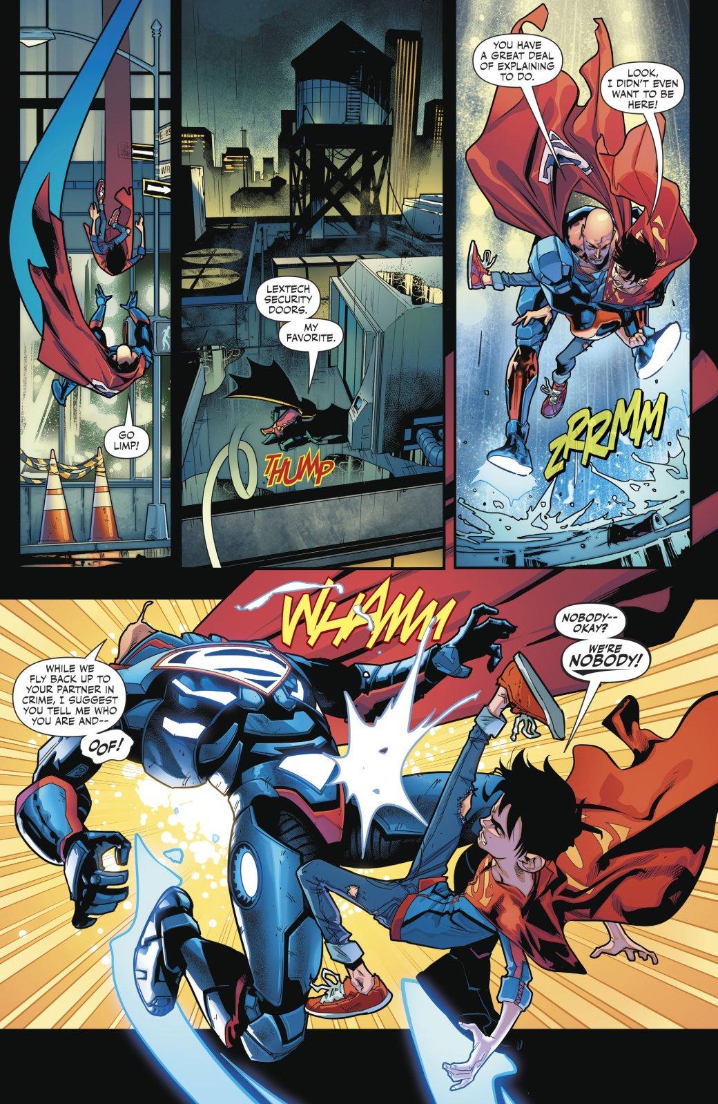 Супербой и Робин столкнулись со своим первым суперзлодеем - Изображение 1