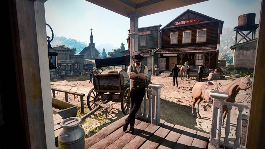Новая утечка: фейк или первый скриншот Red Dead Redemption2?. - Изображение 1